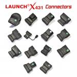 Комплект преходници за Launch X431 -12бр.