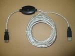 USB кабел удължител - 5.0м  с усилвател